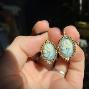 Urban Outfitters Jewelry - Vintage cameo earrings monet